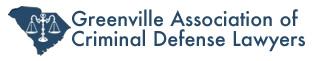 Greenville Association of Criminal Defense Lawyers Logo